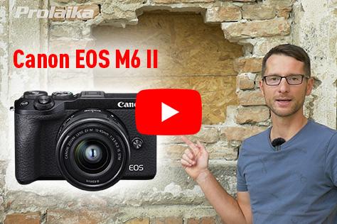 Videorecenzia - Canon EOS M6 Mark II