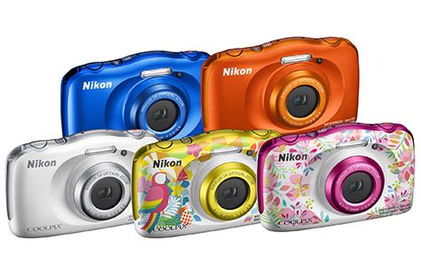 Vodotesný a pripravený na zábavu: nový fotoaparát Coolpix W150