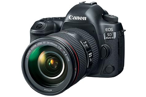 Nov� Canon EOS 5D Mark IV a nov� Wi-Fi adapt�r W-E1
