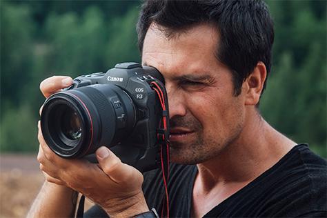 Nový športový šampión Canon EOS R3
