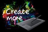CREATE MORE! Nahrajte fotografiu a vyhrajte profi tablet Wacom Intuos Pro S