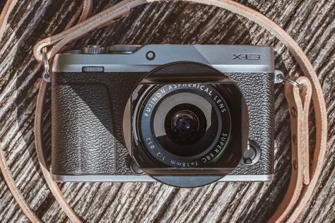 Prvý dojem z fotoaparátu Fujifilm X-E3