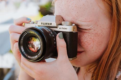 Nový štýlový fotoaparát série X, FUJIFILM X-T100