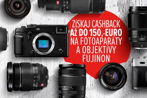 Zimn� Fujifilm CASHBACK 2016