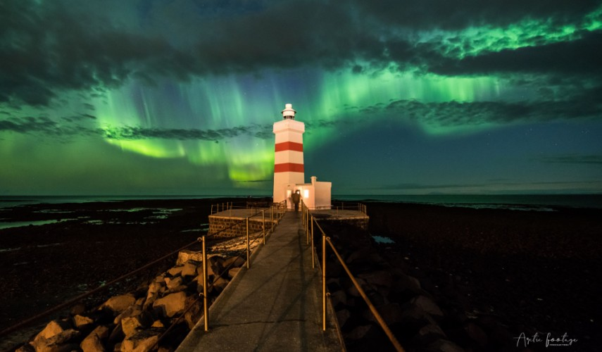 Lighthouse Gardur - Iceland