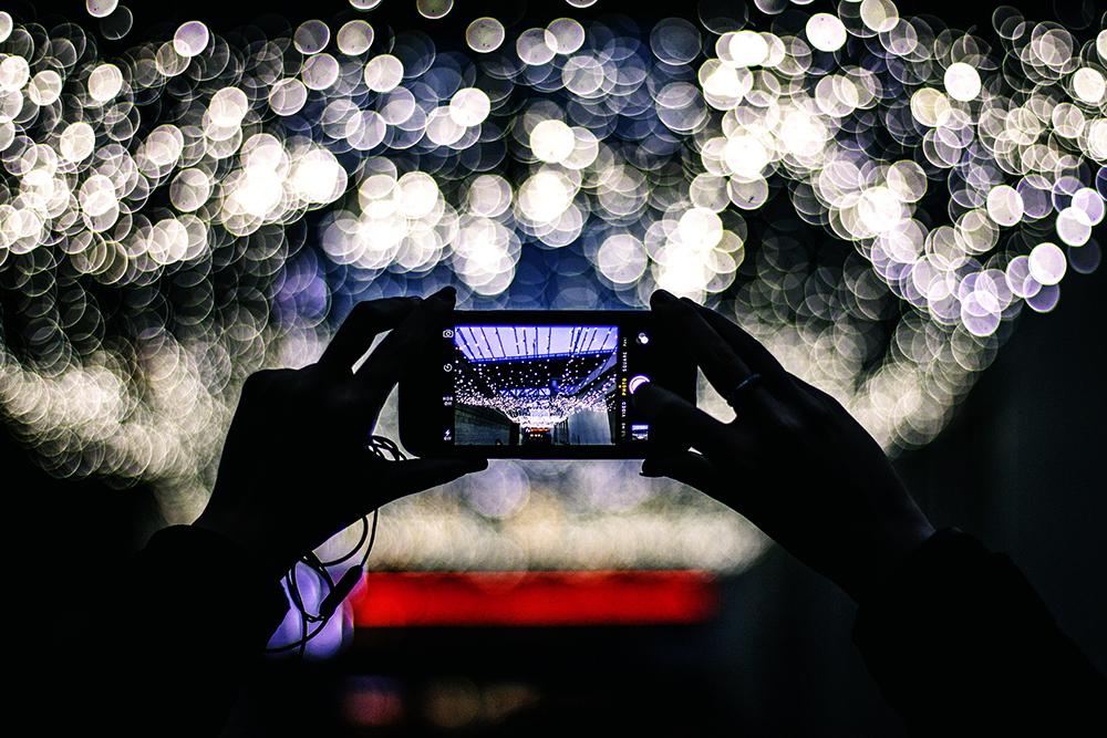 Takúto fotografiu s rozostrenými svetlami v pozadí by ste mobilom dnes nevyfotili.