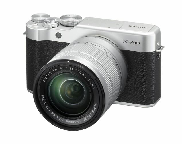 Maly ľahky A Stylovy Mirrorless Fujifilm X A10 Fotoma Sk