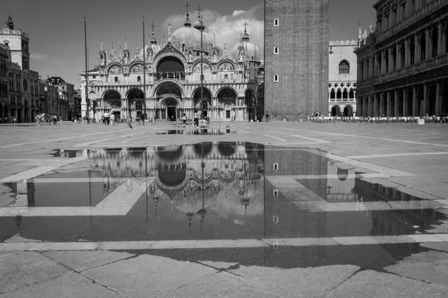 Nám. Sv. Marka, Benátky, jún 2020. Copyright: Jana Rajcová